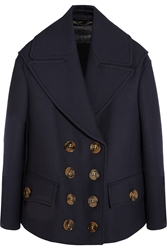 Burberry Wool And Silk Blend Coat