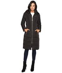 Cole Haan 40 Quilted Down Coat With Oversized Hood Black Women's Coat