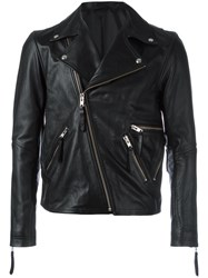 Public School Zipped Biker Jacket Black