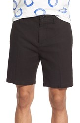 Men's Obey 'Late Night Panama' Textured Woven Shorts