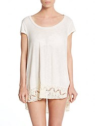 L Space Lanai Coverup Tunic Ivory