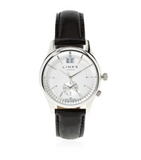 Links Of London Regent Leather Strap Watch Unisex