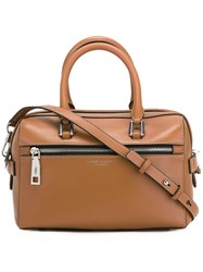 Marc Jacobs Small 'West End' Bauletto Tote Brown