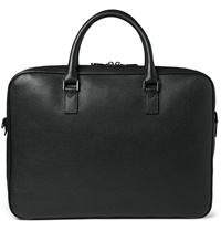 Mulberry Theo Leather Briefcase Black