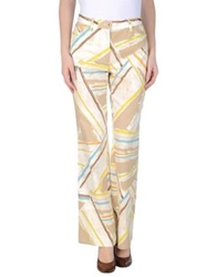 Caractere Aria Casual Pants Sand