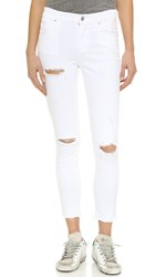 A Gold E Sophie High Rise Skinny Crop Jeans Offspring