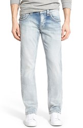 Men's Rock Revival 'Lowry Alternative' Straight Leg Jeans Light Blue