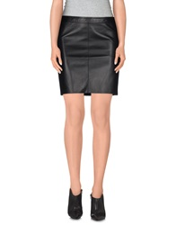 Emporio Armani Mini Skirts Black