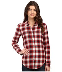 Vans Meridian Flannel Chili Pepper Women's Clothing Red