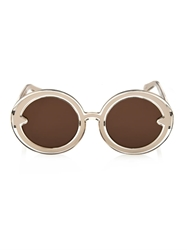 Karen Walker Orbit Round Framed Sunglasses