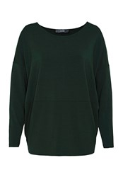 Hallhuber Oversized Long Sleeve Green