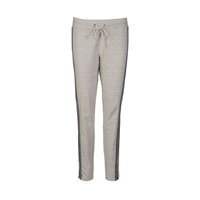 Part Two Comfy Leisure Pants With Drawstring. Grey