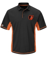 Majestic Men's Baltimore Orioles Top Of The Inning Polo
