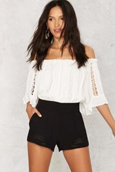 Paisley Up Embroidered Shorts