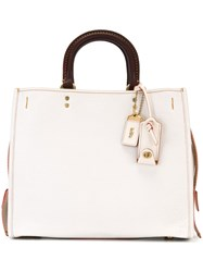 Coach 'Rouge' Tote White