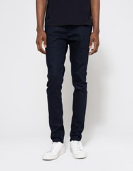 Topman Navy Stretch Skinny Chino