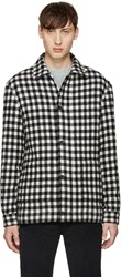 A.P.C. Black And White Check Hunter Jacket