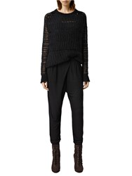 Allsaints Seren Trousers Black