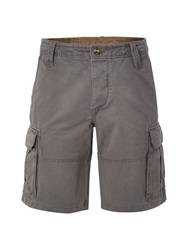 White Stuff Rockface Cargo Shorts Grey