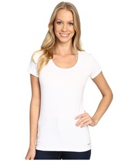 Columbia Cotton Stretch T Shirt White Women's Underwear