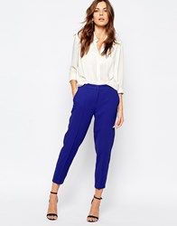 Bcbgeneration Cigarette Trousers In Blue Electric Blue 941