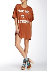 Wildfox Couture St. Tropez Barefoot Tee Dress White