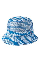 Men's Original Penguin Palm Print Bucket Hat Directoire Blue