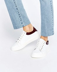 Tommy Hilfiger Sabrina Chunky Trainers White Decadent Choco Tan