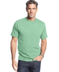 John Ashford Short Sleeve Crew Neck Solid T Shirt Mint Shake