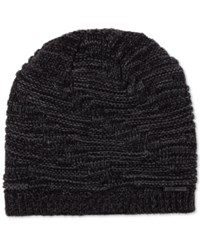Calvin Klein Men's Dimensional Beanie Black