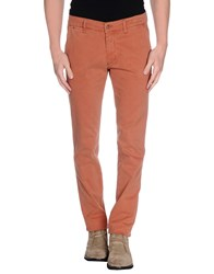 Cotton Star Trousers Casual Trousers Men Salmon Pink