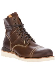 Visvim Virgil Cantor Folk Boot Brown