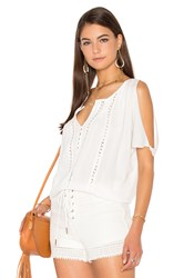 Heartloom Doria Top White