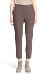 Fabiana Filippi Women's Fabiana Filiippi Wool Crepe Straight Leg Ankle Pants