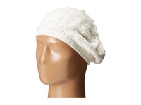 Echo Msoft Pointelle Beret Snow White Berets