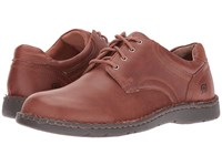 Born Howard Jetty Full Grain Leather Men's Lace Up Casual Shoes Brown