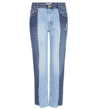 Etoile Isabel Marant Clancy Cropped Jeans Blue