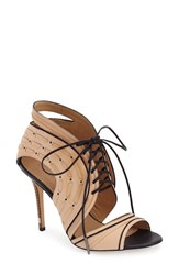 Women's L.A.M.B. 'Halifax' Sandal Nude Blue Leather