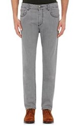 Isaia Men's Slim Fit Jeans Grey