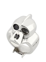 Cantini Mc Firenze Kong Skull Sterling Silver Ring