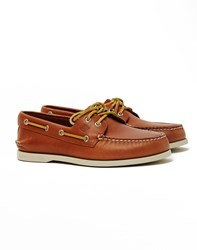 Sperry A O 2 Eye Boat Shoe Tan