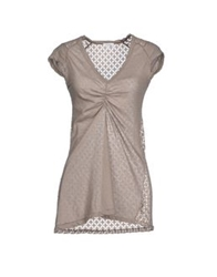 Gold Case T Shirts Dove Grey