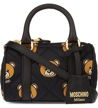 Moschino Bear Print Quilted Mini Bag 1555