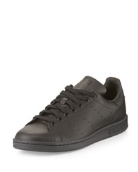 Adidas Stan Smith Foundation Perforated Leather Sneaker Black