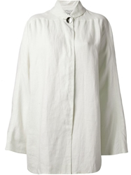 Gianfranco Ferre Vintage Buttoned Jacket White