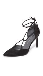 Stuart Weitzman On A String Pumps Black