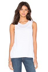 Rag And Bone Double Layer Tank White