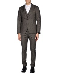 Scotch And Soda Suits Dark Brown