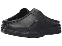 Drew Shoe Gabriel Black Tumbled Leather Men's Shoes