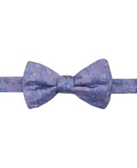 Ryan Seacrest Distinction Men's Lakewood Floral Pre Tied Bow Tie Only At Macy's Purple